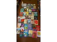 MEGA BARGAIN SALE W/E 50 FAB WOMENS FICTION BOOKS GREAT TITLES ALL IN PICS ONLY £10