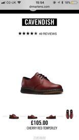 Worn once Dr Marten shoes