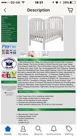Brand new baby cot - never been used