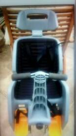 Infants Cycle Seat Carrier.