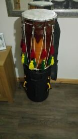 Dhol Drum, SM58 mic, HARDCASE, Remo and desi bass