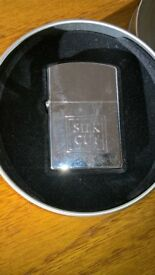 Silk Cut Vintage Windproof Lighter In A Tin As New Condition