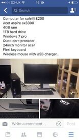Acer computer for sale