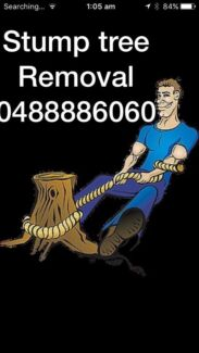 tree lopping and stump grinding services