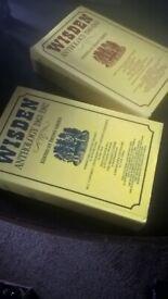 Wisden cricket books