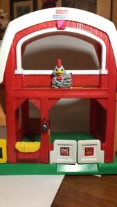 Fisher Price Little People Animal Sounds Barn Silo