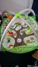 rain forest play mat
