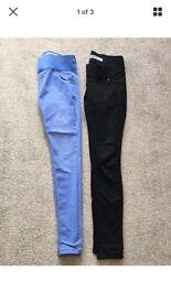 Women's maternity skinny jeans size 12 new look