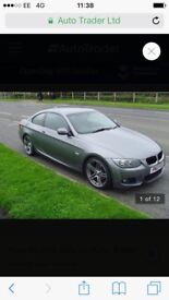 BMW 320i msport in very good condition all usual extras 170 bhp 2 owners from new.