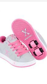 Sidewalk Sport Childrens Lane Girls Skate Laces Fastened Shoes Footwear