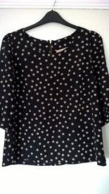 Next blouse top, size 12