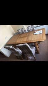 Table solid oak