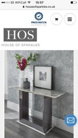 Console table from House of Sparkles BRAND NEW
