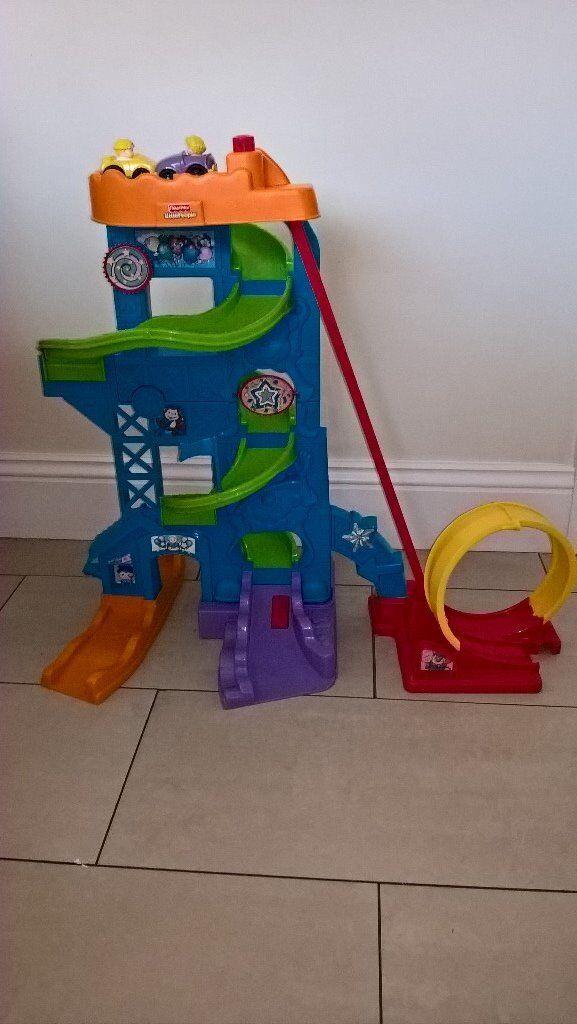Fisher Price Little People Loops n' Swoops Amusement Park Playset