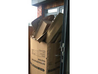 Lots of free cardboard!