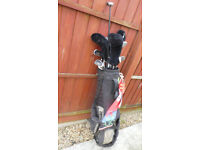 Golf Clubs Howson Wilson with Bag ,Trolley, umbrella all you need in good order ready to play