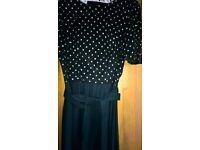 Leshgold Of London Black Dress Size Medium Excellent Condition