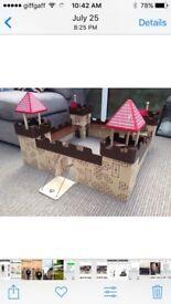 Wooden ELC castle