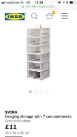 Ikea clothes organiser brand new RRP £11