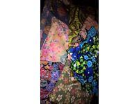 vintage fabric and mixed job lot