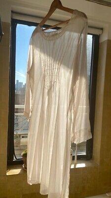 Morgan Puett NY Rare Vintage Silk Organza dress (Comme Des Garçons Like) Size M.
