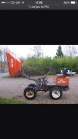 Pel job ED750 dumper wanted