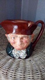 Old charley toby jug