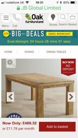 Dining table brand new