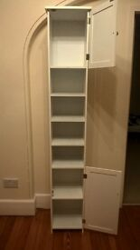 Modern white Tallboy, in very good condition