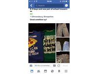 Boys clothes 8-9 x
