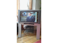 """Panasonic Wide Screen Television 27"""" + Stand + Goodmans Freeview Set Top Box - £75 ono"""