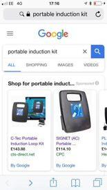 Potable induction kit