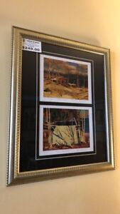 Tom Thomson Group Of Seven Limited Edition Double Print