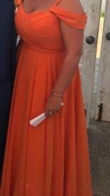 5 orange bridesmaid dresses for sale .