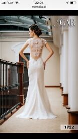 wedding dress,only £600 Lace and shimmering elements