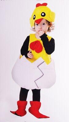 Baby Girls Boys Lttle Chicken Chick Halloween Purim Costume Toddler 1 2 2T NEW - Baby Chick Costumes