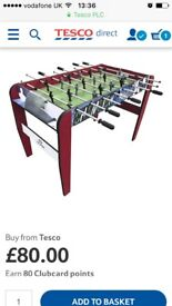 Hy-pro 4ft football table (NEW!!)