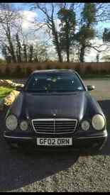 Pristine Condition, 1 Owner, Beautiful Blue Mercedes Benz E CLASS 3.2 Ltr CDI