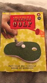 Brand new in box desktop golf from m&s