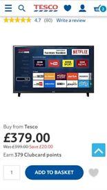 Sharp 50inch Smart TV, brand new in box