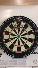 Darts Board and 6 Darts
