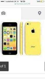 Blue iPhone 5c 16gb