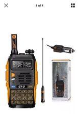 2 X Baofeng GT-3 Two-Way Radio