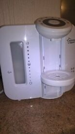 Tommee Tippee Closer to Nature Perfect Prep Machine RRP £60-£85 (used but excellent condition)