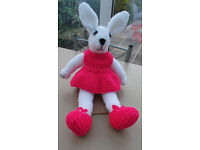 Children's Hand Knitted Rabbit.