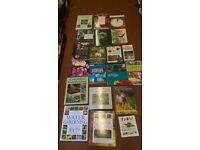 20 FAB GARDENING AND GARDEN PLANNING BOOKS ALL GREAT CONDITION LIKE NEW NEW LOVELY PRESENTS