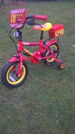 Boys Firechief Bike