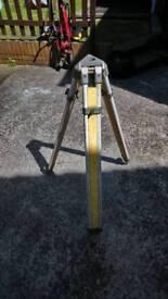 Site laser level Tripod