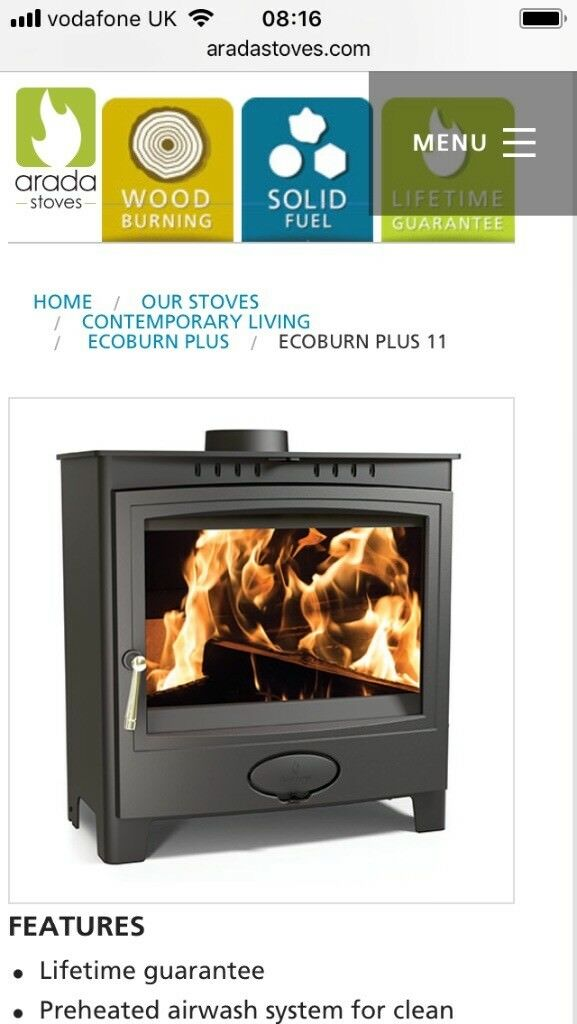 Aarrow Ecoburn Plus 11