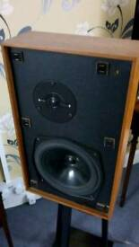 Kef Cantor audiophile vintage speakers LS3/5a Mint BBC